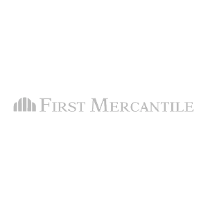 First Mercantile logo gray
