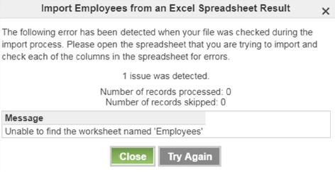 employee import screenshot