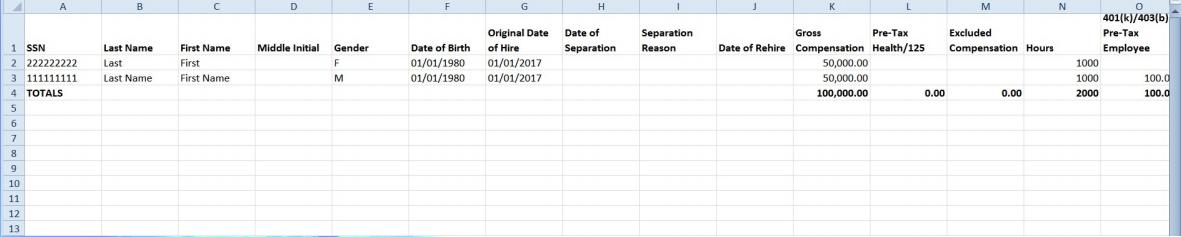 employee sheet screenshot